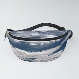 Clouds Over the Desert Fanny Pack