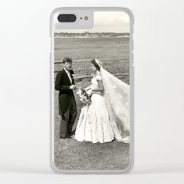 The Kennedys' Wedding Clear iPhone Case