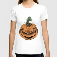 pumpkin T-shirts featuring Pumpkin by Kape