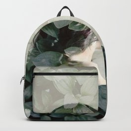 Leaf portrait Backpack