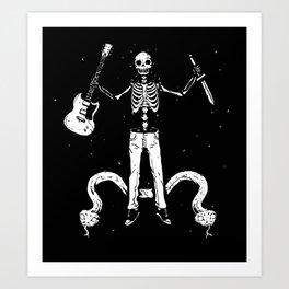 Worship the dark II Art Print