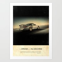The Dream and the Machine Art Print