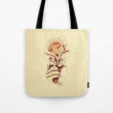Rose a la Mode Tote Bag