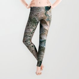 Agate Abstract Leggings