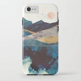 Blue Mountain Reflection iPhone Case
