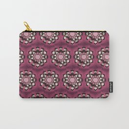 Pink Pelvis Flower Carry-All Pouch
