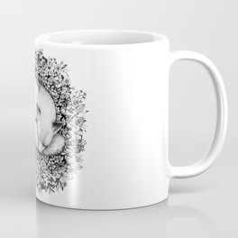 Fox Sleeping in Flowers Coffee Mug