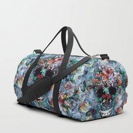 Skull Flower Duffle Bag