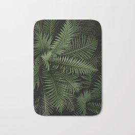 Tropical leaves 02 Bath Mat