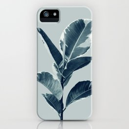 Ficus Elastica Finesse #1 #tropical #foliage #decor #art #society6 iPhone Case
