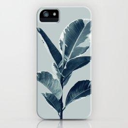 Ficus Elastica Finesse #1 #tropical #foliage #decor #art #society6 iPhone Case