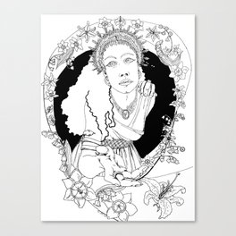 Spring Equinox Canvas Print