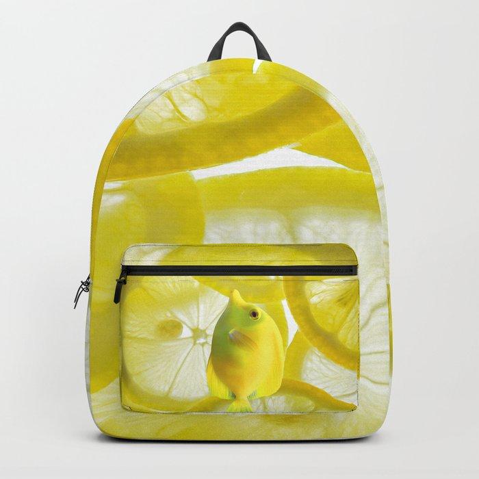 Lemon Fish Backpack