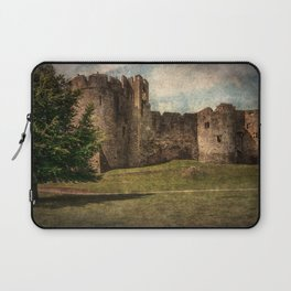 Chepstow Castle Towers Laptop Sleeve