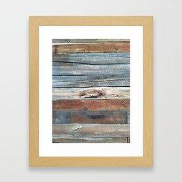 Cold Springs Barnwood Framed Art Print