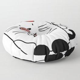 Kitten WITH CANDY Floor Pillow