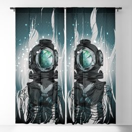 Deep Space Diver Blackout Curtain