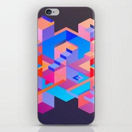 Cubic Inversion III iPhone Skin