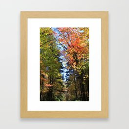 Stony Ledge, Mount Greylock Framed Art Print