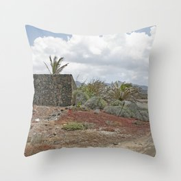 Rural Lanzarote Throw Pillow