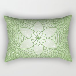 The Heart Chakra Rectangular Pillow