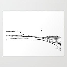 Landscape 110113 Art Print