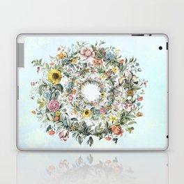Circle of Life in  Blue Laptop & iPad Skin