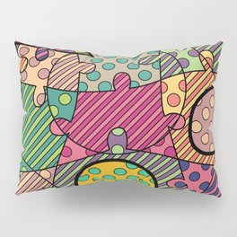 Very Puzzled 1.1 Pillow Sham