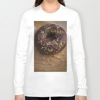 donut Long Sleeve T-shirts featuring Donut by LaiaDivolsPhotography