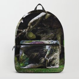 The enchanted fallen tree Backpack