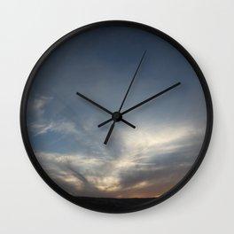 Calm Evening Wall Clock