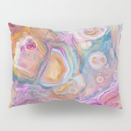 Seashell Mother of Pearl Pillow Sham