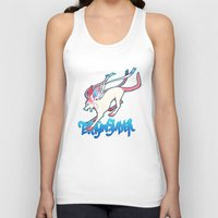 sylveon Tank Tops featuring Dragonslayer by Leonie X. Li
