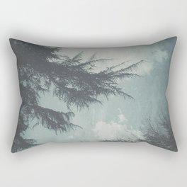 On Cool Days Rectangular Pillow