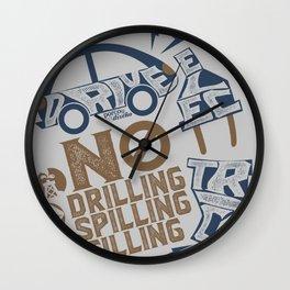 Drive Electric Wall Clock