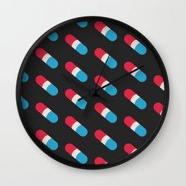 Pills, Pills, Pills Wall Clock