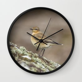 Wheatear Wall Clock