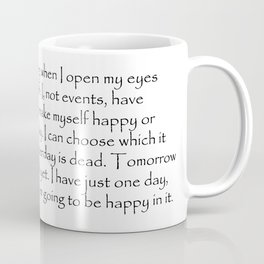 Decide to be happy Coffee Mug