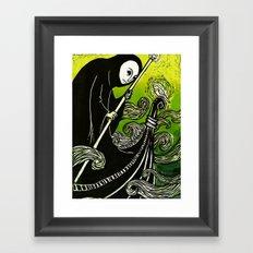 Charon Framed Art Print