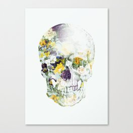 Skull Bouquet B Canvas Print