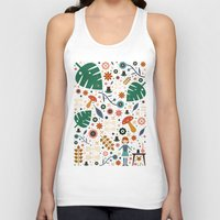 nausicaa Tank Tops featuring Nausicaa by Carly Watts