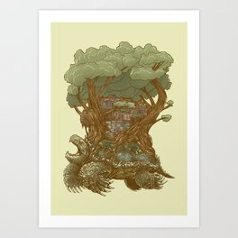 Atlas Reborn Art Print