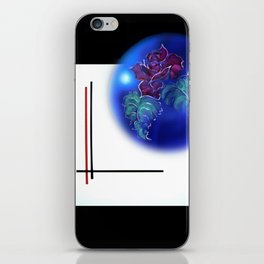 Abstract in perfection - Fertile Imagination Rose 3 iPhone Skin