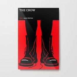 The Crow Metal Print
