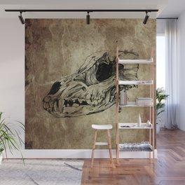 Animal Skull Wall Mural