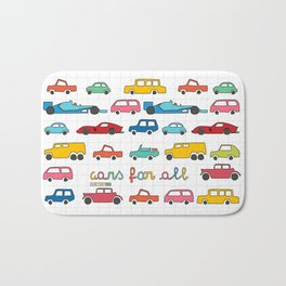 Cars for all Bath Mat