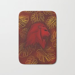 Bravery and Courage Bath Mat