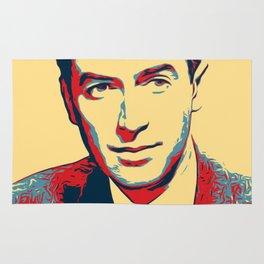 James Stewart Poster Art Rug