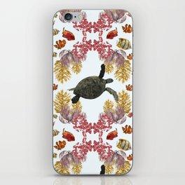 Coral Diamonds iPhone Skin
