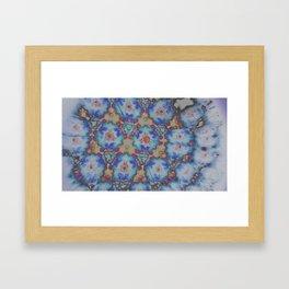 Inverted Kaleidoscope  Framed Art Print
